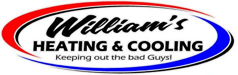 Williams Heating-Cooling, Inc. Logo | Your source for Air Conditioning repair in St. Johns.